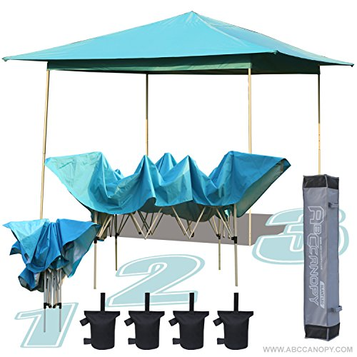 ABCCANOPY 13′ x 13′ Instant Shelter Pop Up Canopy Gazebo for Shade in Backyard, Party, Event with Carry Bag & weight bag