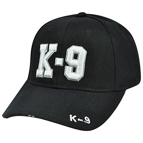 Incrediblegifts K-9 Police Unit Officer Gear, 3D Embroidered Adjustable Baseball Cap -