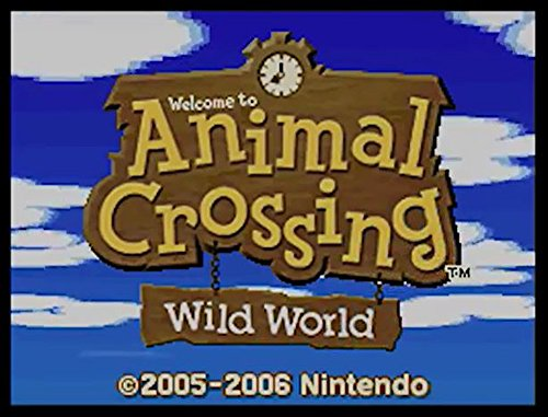 DS Animal Crossing Wild World - Wii U [Digital Code]