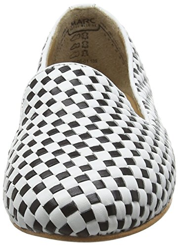 Shoes Marc Multicolore Femme black Mocassins Bea 109 white Mehrfarbig 4ROTdRax