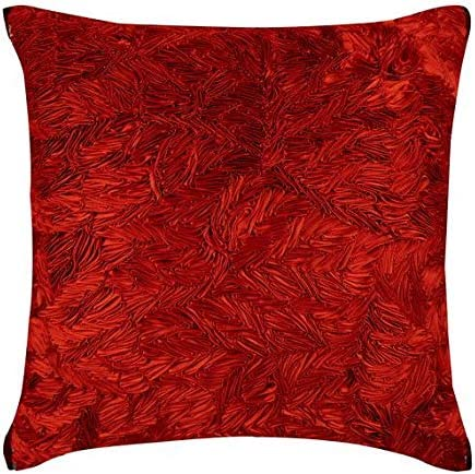 588 00 Bellingham Cardinal Red Sofa Vibrant Accents Pillows
