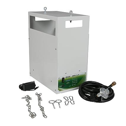 4 8 2 10 Burner LP NG Hydroponic Titan Controls Ares CO2 Generator