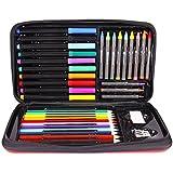 Joan Miro Kids Art Set Washable Crayons Watercolor Pen Pencil Painting Stationery Christmas Gift Box
