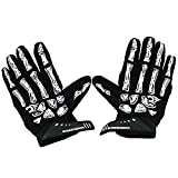 Ezyoutdoor Skull Skeleton Ghost Cycling Gloves Winter Full Finger Bike Glove Men Women GEL MTB Cycle Bicycle Gloves