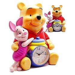 Disney Winnie The Pooh & Piglet 12 Talking Alarm Clock & Bank by Triple Store by Triple Store