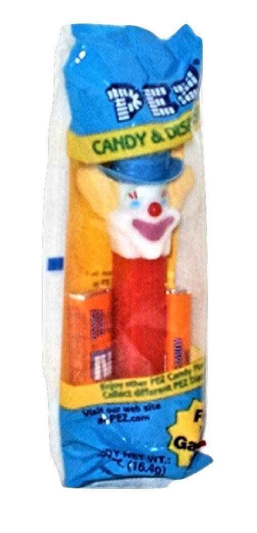 Clowns Vintage Pez Candy Dispensers Red Stem