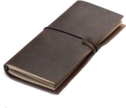 Passion Vintage hecho a mano rellenable Cuero viajeros revistas diario Piel para Notebook Diario Bloc de notas Notebook hecho a mano cuaderno del Viajero Viajes: Amazon.es: Oficina y papelería