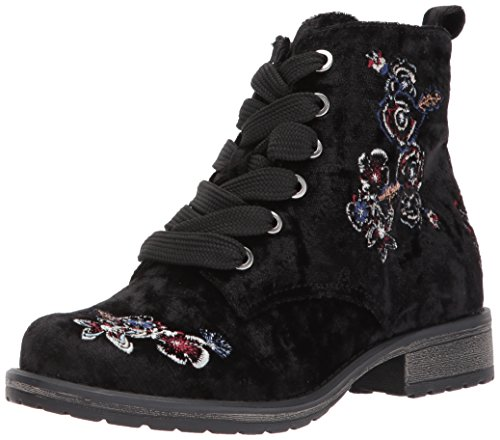 ddd746011fd1c Dolce Vita Girls' Lilla Ankle Boot, Black Multi Velvet, 12 Medium US Little  Kid