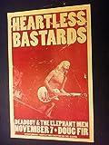 #10: Heartless Bastards Cincinnati Ohio Black Keys Doug Fir Portland Concert Poster
