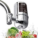 Fanmuran Cocina Que Bebe el purificador de Agua del Grifo Filtro de Agua del Grifo Cartucho de Filtro Universal de ósmosis inversa