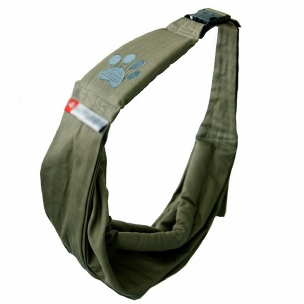 ArmyGreen Pet package ArmyGreen Pet package CAIJJ WLQ Pet Carrier Messenger Pet Sling Pet Backpack Dog Cat Bag Out