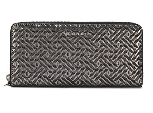 MICHAEL Michael Kors Jet Set Travel Continental Wallet, Silver by Michael Kors