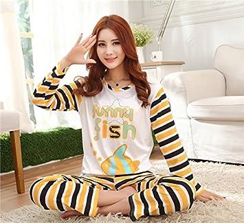 &zhou Pijamas de parejas ocio pijamas ropa hogar , female , l