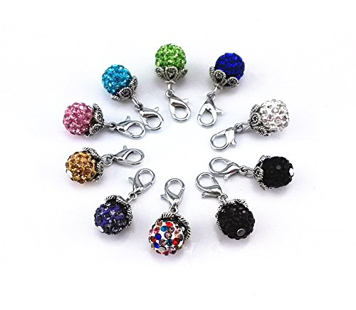 yueton Rhinestone Accessory Floating Necklaces