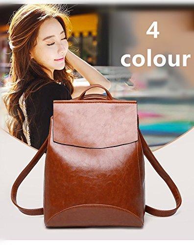 2bbf51aa43f6 Amazon | リュックサック レディース 人気 バッグ 鞄 かばん 激安 カバン 大容量 軽量 (ブラウン) | bag | レディース
