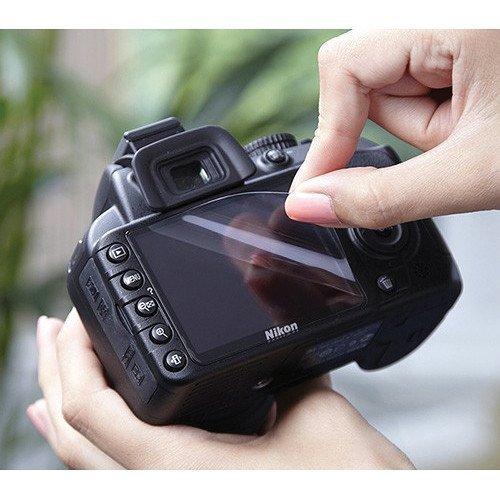 MOBSTAR Ultra Clean Screen Guard for Nikon Digital Camera D3300 (DSLR) ( Screen Guard+Wet & Dry Professional Screen Cleaning Paper)