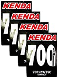 Kenda 700x23-25c Bicycle Inner Tubes - 48mm Long Presta Valve - FOUR (4) PACK