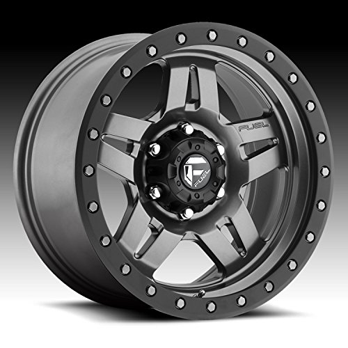 - Fuel Offroad D558 Anza 16x8 6x139.7 +1mm Anthracite Wheel Rim