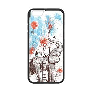 Tobe happy place norman duenas Custom durable protective cover hard Case for iPhone6 4.7; (Laser Technology)