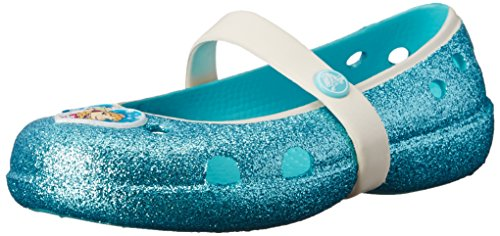 Crocs Girls' Keeley Frozen Flat