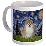 CafePress - Starry / Pomeranian Mug - Unique Coffee Mug, Coffee Cup