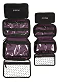 EMME Original & Petite Combo Pack: TSA Approved, Premium Quality, Travel Cosmetic Bags