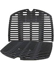 Denmay 7645 gjutjärn matlagningsgaller för Weber Q200, Q220, Q2000-serien, Q2400 gasgrill, grilldelar grillgaller ersättning för Weber 7645 65811