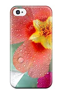 New Arrival Fresh Flowers For Iphone 4/4s Case Cover