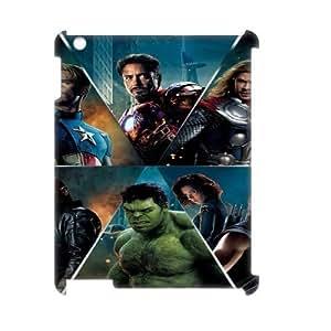 The Avengers FG0071719 3D Art Print Design Phone Back Case Customized Hard Shell Protection Ipad2,3,4