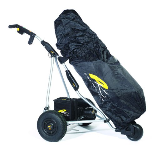 Powakaddy 2012 Golf Bag Rain Cover Black Fits All Bags by PowaKaddy