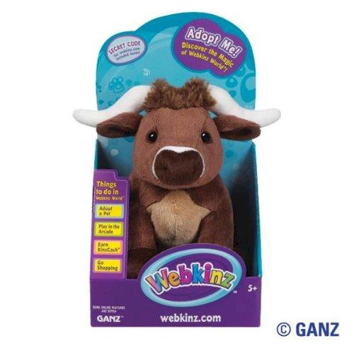 Ganz Webkinz Longhorn Steer in Box