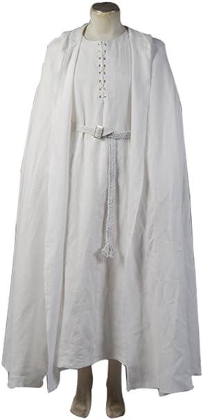 daiendi el Señor de los anillos Gandalf disfraz Color blanco ...