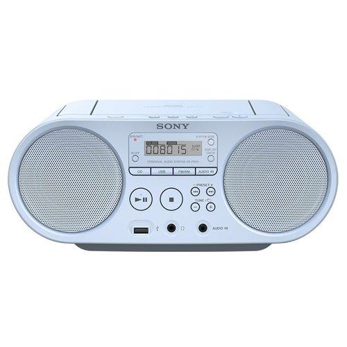 114 opinioni per Sony ZSP-S50 Stereo Portatile con Lettore CD, Radio FM, Ingresso Aux, USB,