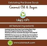 BIKINI SOFT Virgin Coconut Oil & Sugar Pre-Shave