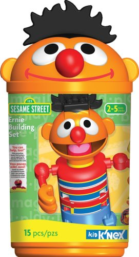 Sesame Street Ernie Building Set - Kid Knex Elmo