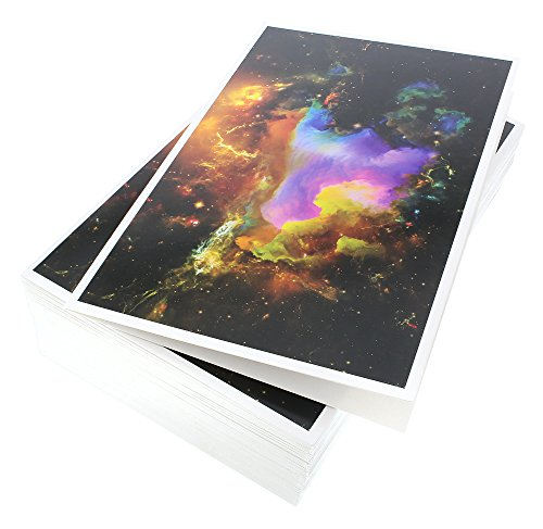 48 Pack All Occasion Assorted Blank Note Cards Greeting Cards Bulk Box Set - 6 Colorful Cosmic Designs - Blank on the Inside Notecards with Envelopes Included - 4 x 6 Inches Photo #4