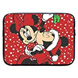 CHLING Micky Mouse and Minnie Xmas Laptop Sleeve Bag Compatible 13-15 Inch MacBook Pro/MacBook Air/Surface Book/Surface Laptop