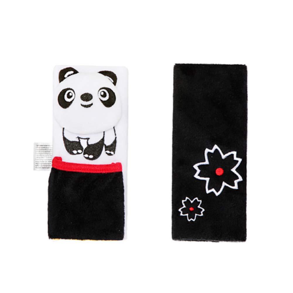 Gurtpolster f/ür Kinder 1 Paar Isuper Cartoon Gurtschoner Sicherheitsgurtposter f/ür Autositz und Kinderwagen zum Schutz f/ür KinderSchulter Panda
