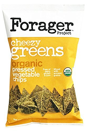 Forager Glueten Free Corn Free Organic Vegetable Chips 5oz (Cheezy Green)