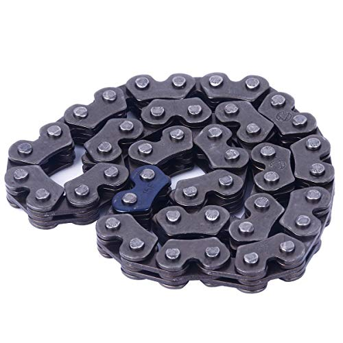 (Glixal ATMT1-106 GY6 125cc 150cc Engine 44 Links Oil Pump Chain for 152QMI 157QMJ Chinese Scooters Mopeds ATV Go Kart Quads)