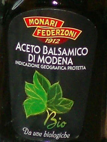 """Monari Federzoni: """"Aceto Balsamico di Modena IGP BIO"""" Balsamic Vinegar from Modena Organic 17 Fluid Ounces Glass Bottle [ Italian Import ] 2 Balsamic Vinegar from Modena, PGI (Protected Geographical Indication) Great to enhance the flavor of vegetables, meat or fish Delicious on fresh fruit and ice cream, or for everyday dressing"""