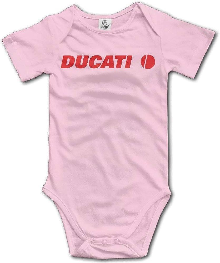 Huijiaoo Body de bebé Mono de Mameluco Ropa de bebé Conjuntos Logotipo de Ducati