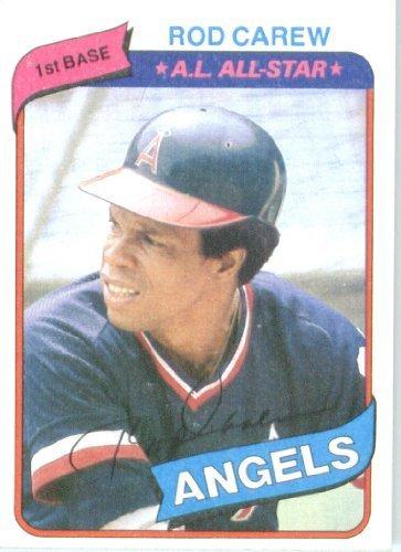 (1980 Topps Baseball Card #700 Rod Carew)