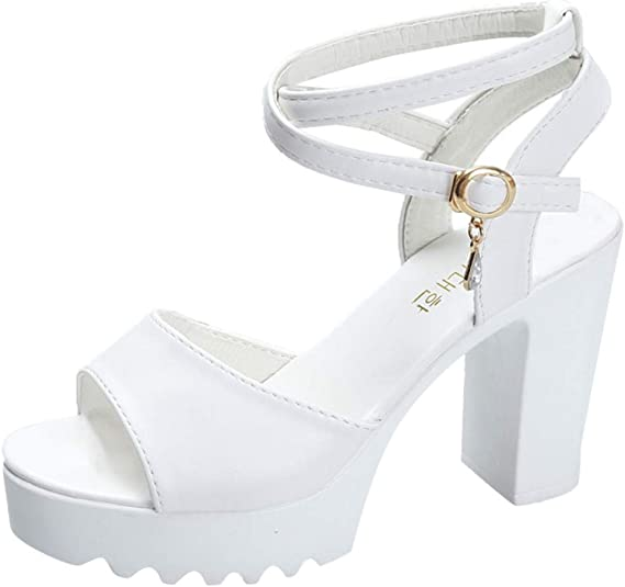 Toe Mid Heel Sandals Bridal Party Shoes