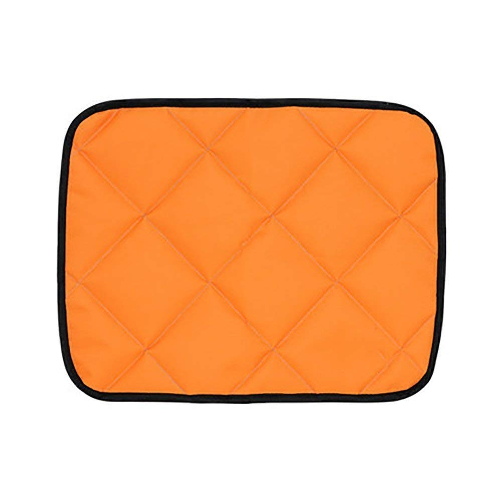ANDRE HOME Pet Cushion Car Dog Pad Dog Summer Bite-Proof Waterproof Rear Seat Cushion (color   orange, Size   XXL) Pet Bed Blanket
