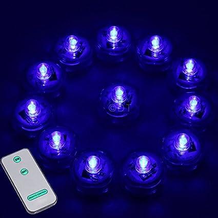 Amazoncom 12 SUPER Bright LED Submersible Wedding Tower Vase Tea