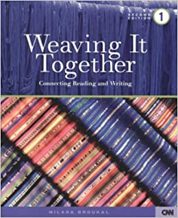 Weaving It Together 1: Connecting Reading and Writing by Milada Broukal (2002-12-30)