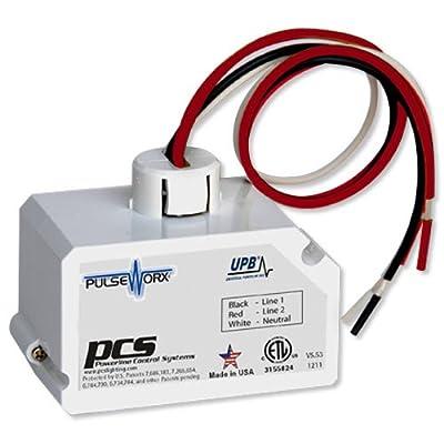PCS PulseWorx UPB Relay Fixture Module, 20A (FMR1-20)