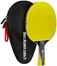 Ping Pong Paddle JT-700 with Killer Spin + Case for Free by Sport Game Pro