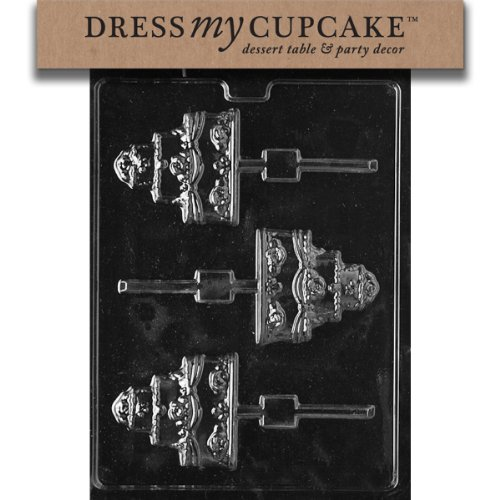 Dress My Cupcake DMCW059 Chocolate Candy Mold,
